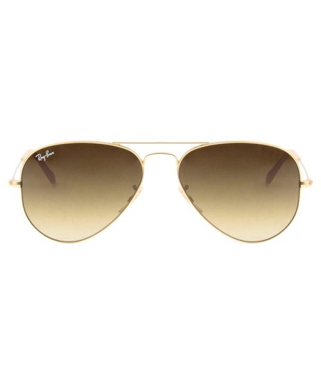 eotica. foto-1. salvar. ver detalhes. Moda Masculina. Adicionar Óculos de Sol  Ray Ban RB3025 58 58 Dourado Fosco -112 85 73169ddefd