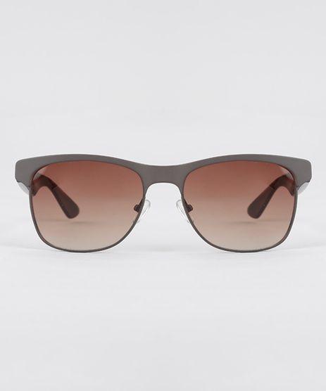 Oculos-de-Sol-Quadrado-Masculino-Oneself-Marrom-8607056-Marrom_1