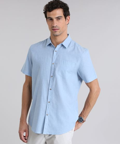 Camisa-Comfort-com-Bolso-Azul-Claro-8635561-Azul_Claro_1