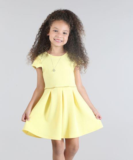 Vestido-Texturizado-com-Brilho-Amarelo-8790546-Amarelo_1