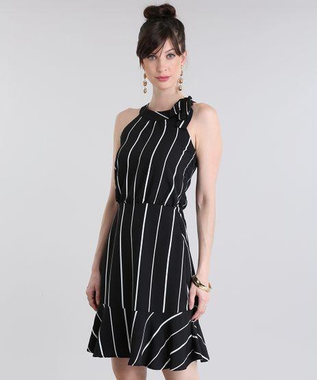 Vestido-Gola-Laco-Listrado-Preto-8732763-Preto_1