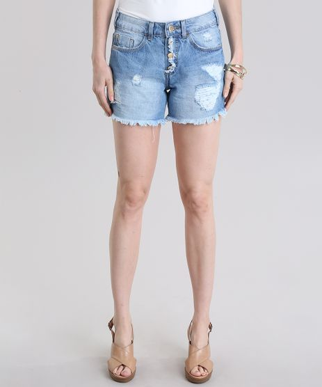 Short-Jeans-Midi-Destroyed-Azul-Claro-8792490-Azul_Claro_1