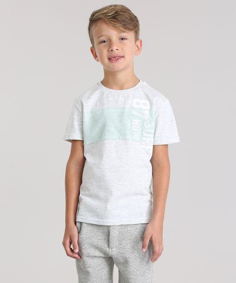 Camiseta-com-Recorte-em-Tela-Cinza-Mescla-Claro-8826620-Cinza_Mescla_Claro_1
