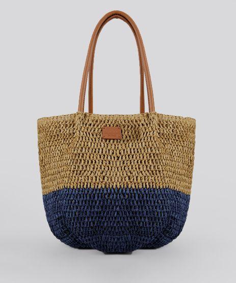 Bolsa-Shopper-Bicolor-de-Praia-Bege-8744843-Bege_1