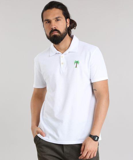 Polo-em-Piquet-com-Bordado-de-Coqueiro-Branca-8847294-Branco_1