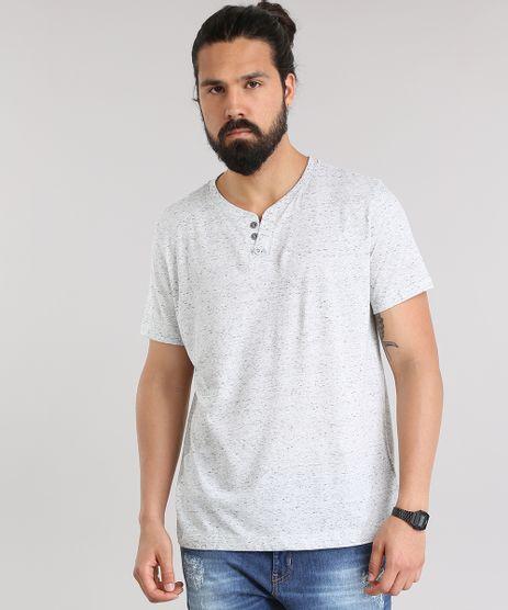 Camiseta-Basica-com-Botoes-Cinza-Mescla-Claro-8807207-Cinza_Mescla_Claro_1