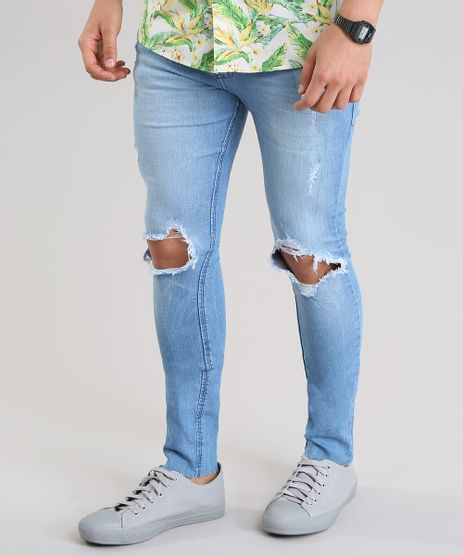 Calca-Jeans-Super-Skinny-Cropped-Destroyed-Azul-Claro-8761886-Azul_Claro_1