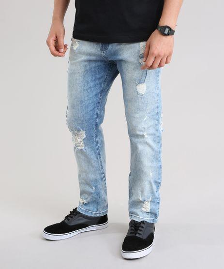 Calca-Jeans-Slim-Destroyed-Azul-Claro-8443835-Azul_Claro_1