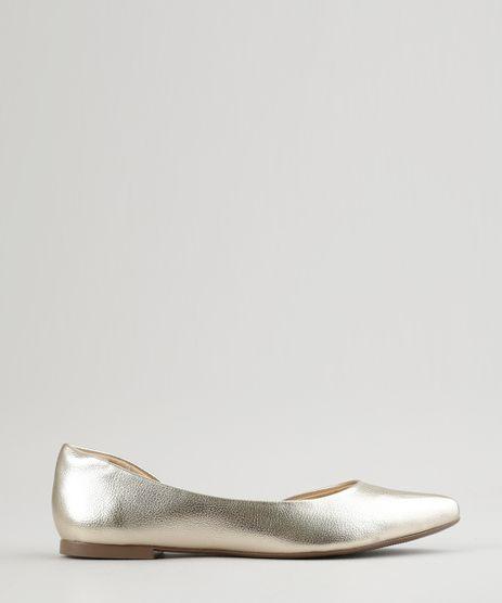 Sapatilha-Bico-Fino-metalizada-Dourada-8829807-Dourado_1