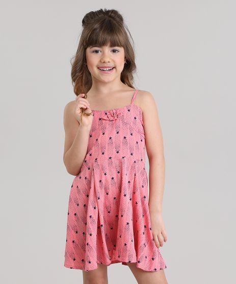 Vestido-Estampado-de-Estrelas-Rosa-8687317-Rosa_1