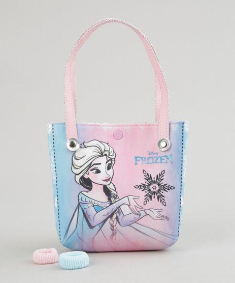 Bolsa-Estampada-Frozen---Elasticos-de-Cabelo-Rosa-Claro-8891152-Rosa_Claro_1