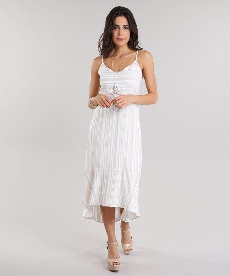 Vestido-Midi-Listrado-Bege-Claro-8803762-Bege_Claro_1