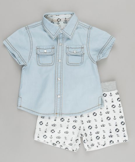 Conjunto-de-Camisa-Jeans-Azul-Claro---Bermuda-Estampada-Off-White-8700305-Off_White_1