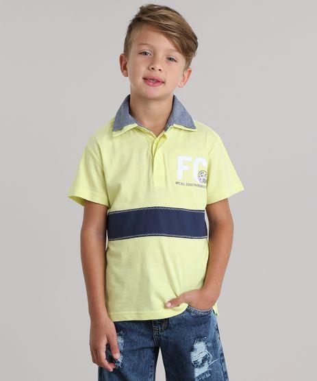 Polo-com-Bordado-Amarela-8675148-Amarelo_1