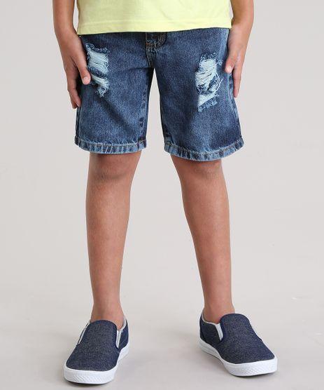 Bermuda-Jeans-Reta-Destroyed-Azul-Escuro-8816158-Azul_Escuro_1
