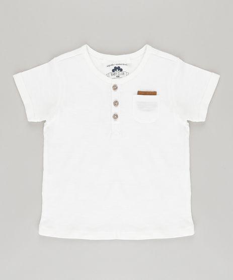 Camiseta-com-Bolso-em-Algodao---Sustentavel-Off-White-8592197-Off_White_1