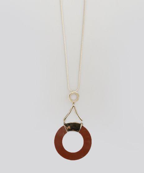 Colar-Longo-Geometrico-Dourado-8716964-Dourado_1