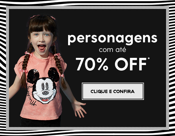 Banner Carrossel - LIQUIDA BLACK: personagens