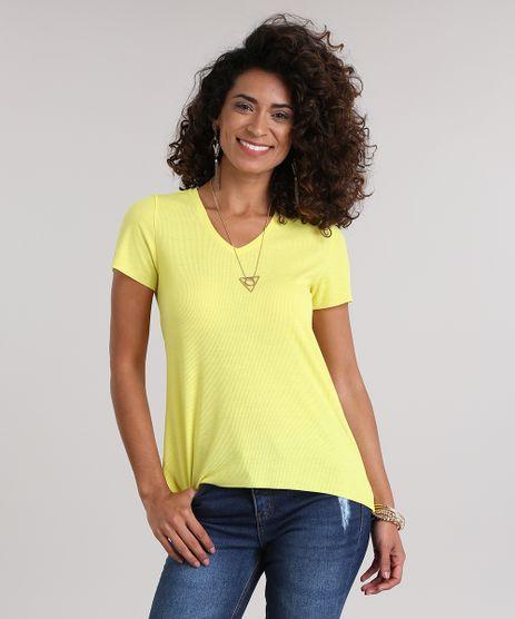 Blusa-Basica-Mullet-em-Algodao---Sustentavel-Amarela-8855515-Amarelo_1