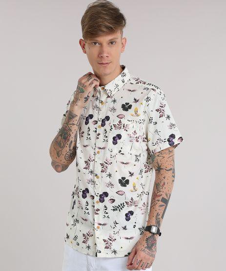 Camisa-Estampada-Floral-Bege-Claro-8687661-Bege_Claro_1