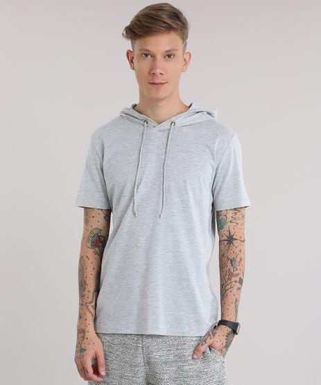 Camiseta-com-Capuz-Cinza-Mescla-Claro-8450869-Cinza_Mescla_Claro_1