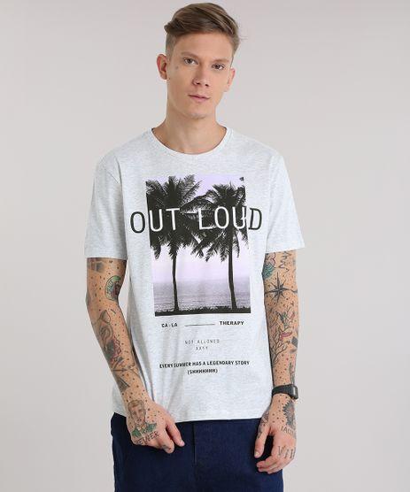 Camiseta--Out-Loud--Cinza-Mescla-Claro-8819708-Cinza_Mescla_Claro_1