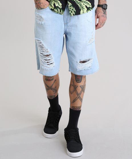 Bermuda-Jeans-Reta-Destroyed-Azul-Claro-8767642-Azul_Claro_1