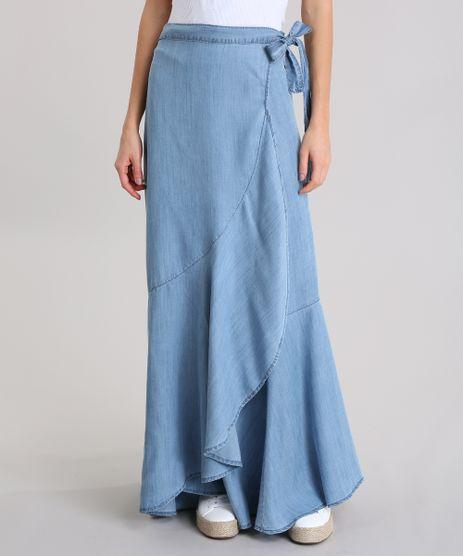 Saia-Longa-Jeans-Cia--Maritima-Azul-Claro-8858714-Azul_Claro_1