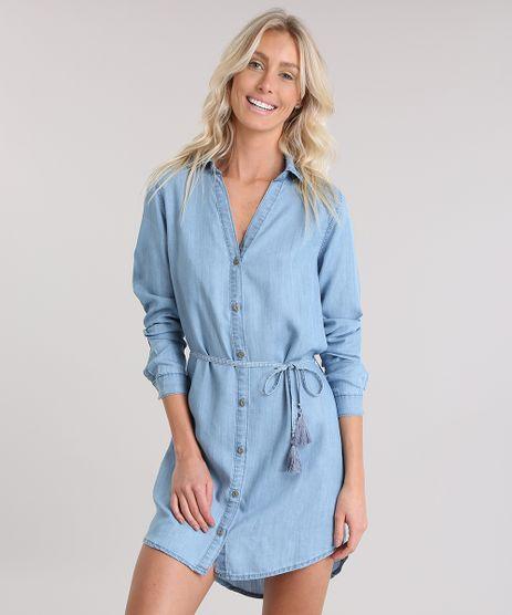 Vestido-Chemise-Jeans-Cia--Maritima-Azul-Claro-8858715-Azul_Claro_1
