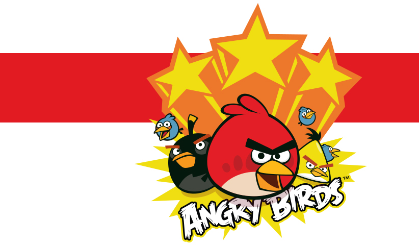 Banner Angry Birds