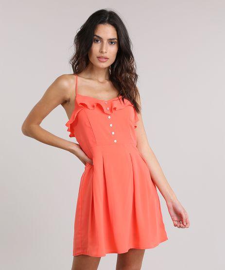 Vestido-BlueMan-com-Babados-Coral-8728481-Coral_1