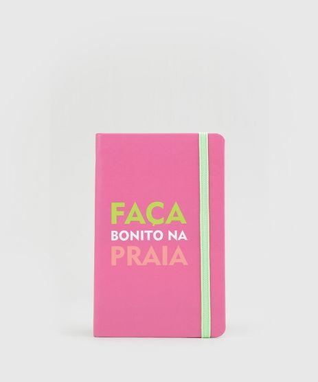 Caderno-BlueMan--Faca-Bonito-na-Praia--14cm-X-9cm-Pink-8883159-Pink_1