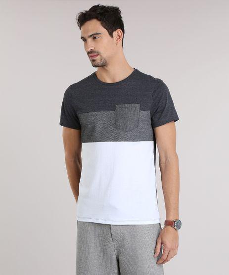 Camiseta-com-Recorte-Cinza-Mescla-Escuro-8792164-Cinza_Mescla_Escuro_1