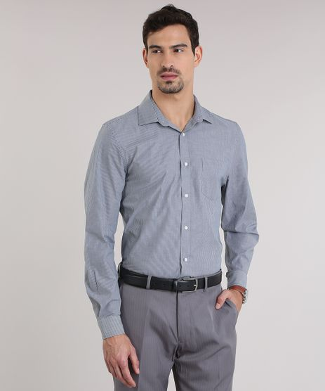Camisa-Comfort-Listrada-Cinza-8637772-Cinza_1