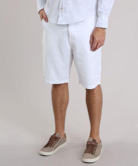 Bermuda-Reta-em-Linho--Branca-8761822-Branco_1