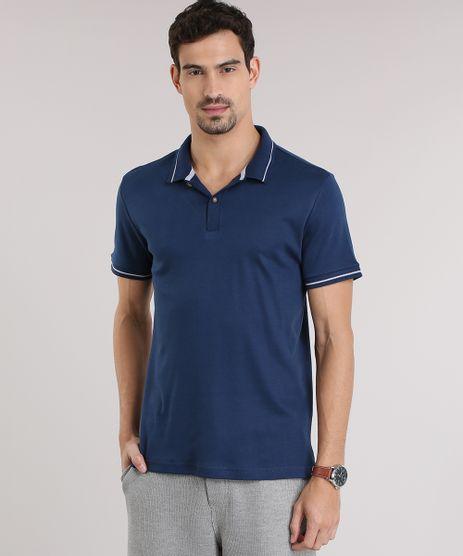 Polo-com-textura-Azul-Marinho-8855343-Azul_Marinho_1