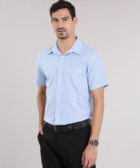 Camisa-Comfort-Listrada-Azul-Claro-8653970-Azul_Claro_1