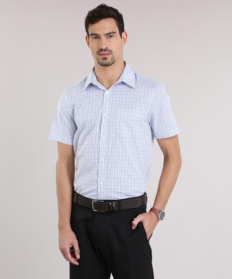 Camisa-Comfort-Xadrez-Branca-8653962-Branco_1