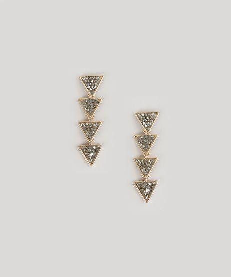 Brinco-de-Triangulos-com-Strass-Dourado-8717372-Dourado_1