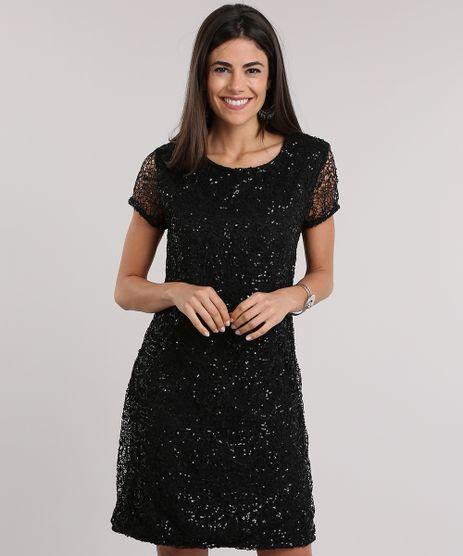 Vestido-em-Renda-Bordada-de-Paetes-Preto-8828818-Preto_1
