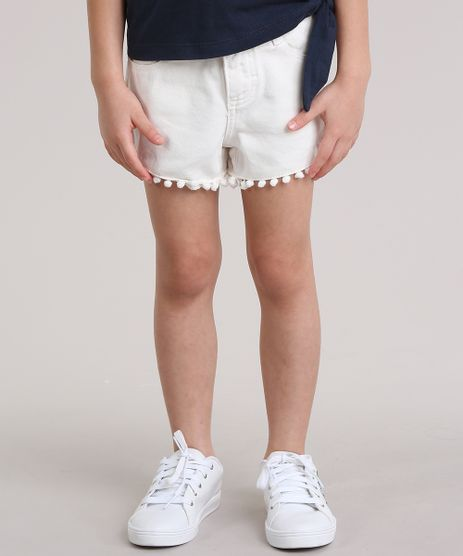 Short--Follow-Your-Dreams--com-Pompons-Off-White-8826579-Off_White_1