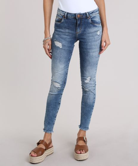 Calca-Jeans-Cigarrete-Destroyed-Azul-Medio-8825095-Azul_Medio_1