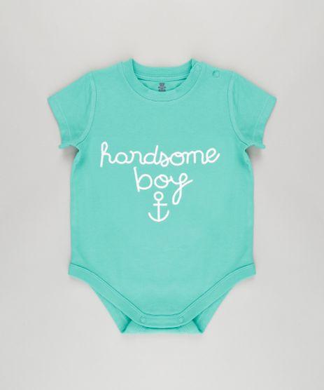 Body-com-Bordado--Handsome-Boy--em-Algodao---Sustentavel-Verde-8720171-Verde_1