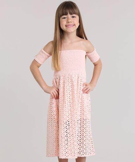Vestido-Longo-Ombro-a-Ombro-em-Laise-Rosa-Claro-8694815-Rosa_Claro_1