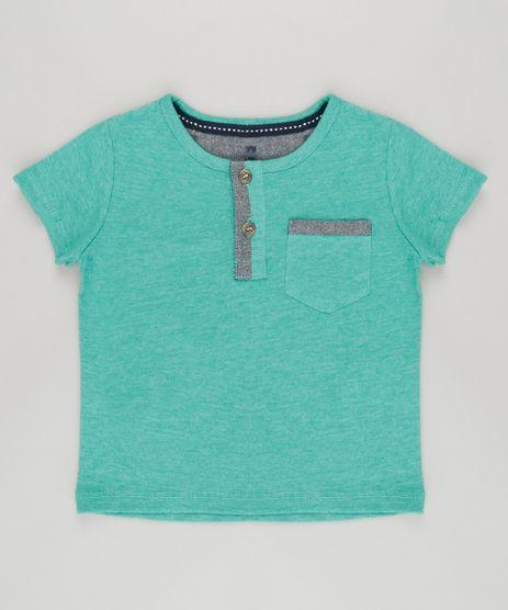 Camiseta-com-Bolso-em-Algodao---Sustentavel-Verde-8700854-Verde_1