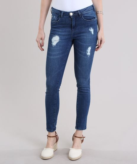 Calca-Jeans-Cigarrete-Azul-Escuro-8796817-Azul_Escuro_1