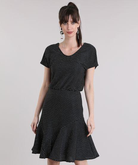 Vestido-Listrado-com-Lurex-Preto-8918148-Preto_1