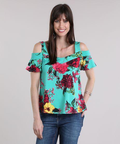 Blusa-Open-Shoulder-Estampada-Floral-Verde-8832189-Verde_1