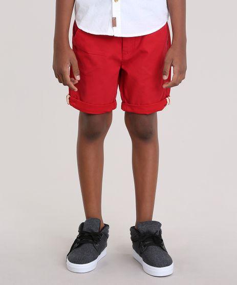 Bermuda-Slim-com-Cinto-Vermelha-8671693-Vermelho_1