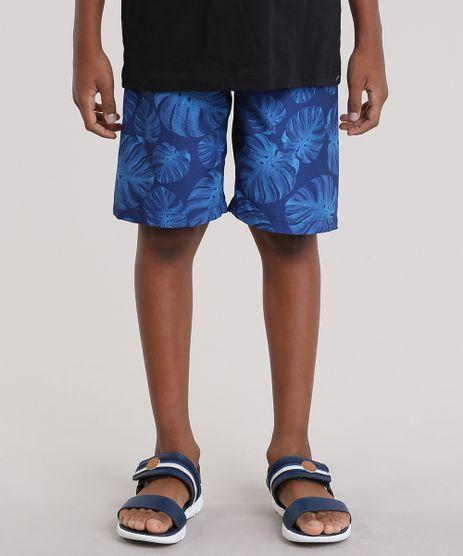 Bermuda-Estampada-de-Folhagem-Azul-Marinho-8718489-Azul_Marinho_1